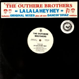 "Outhere Brothers (The) - La La La Hey Hey (12"") (Promo) (VG/G++)"